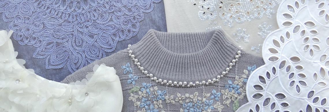 株式会社ジー・トライの刺繍の加工品