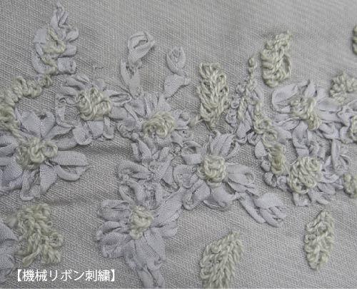 機械リボン刺繍